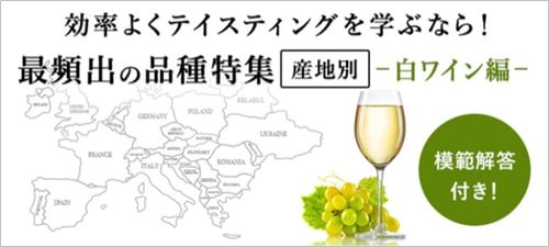 白ワインのテイスティング講座