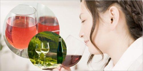 ワイン初心者または飲み慣れていない女性の場合