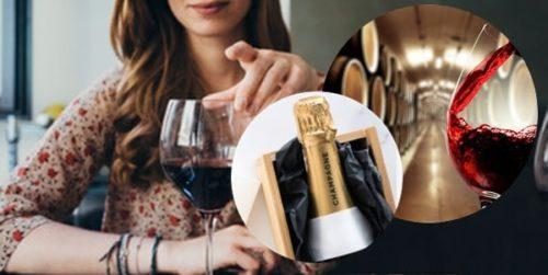 ワインを飲み慣れている女性の場合