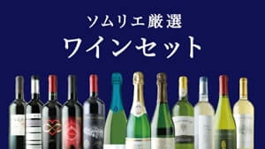 ワインショップソムリエ「ソムリエ厳選ワインセット」