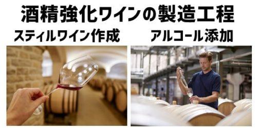 酒精強化ワイン(Fortified Wineフォーティファイドワイン)の製造工程